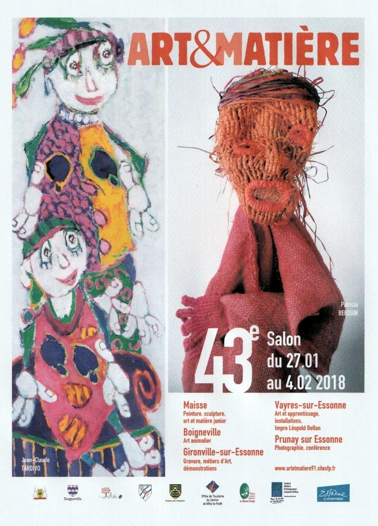 Affiche Art et Matière
