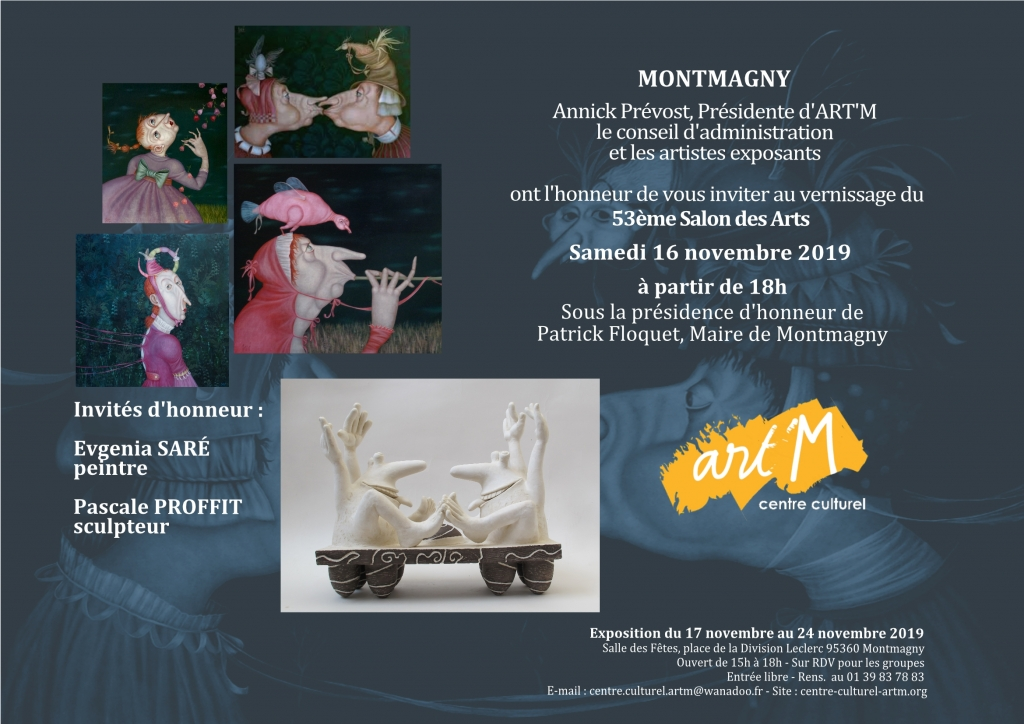 Invit email 53e Salon des Arts 2019