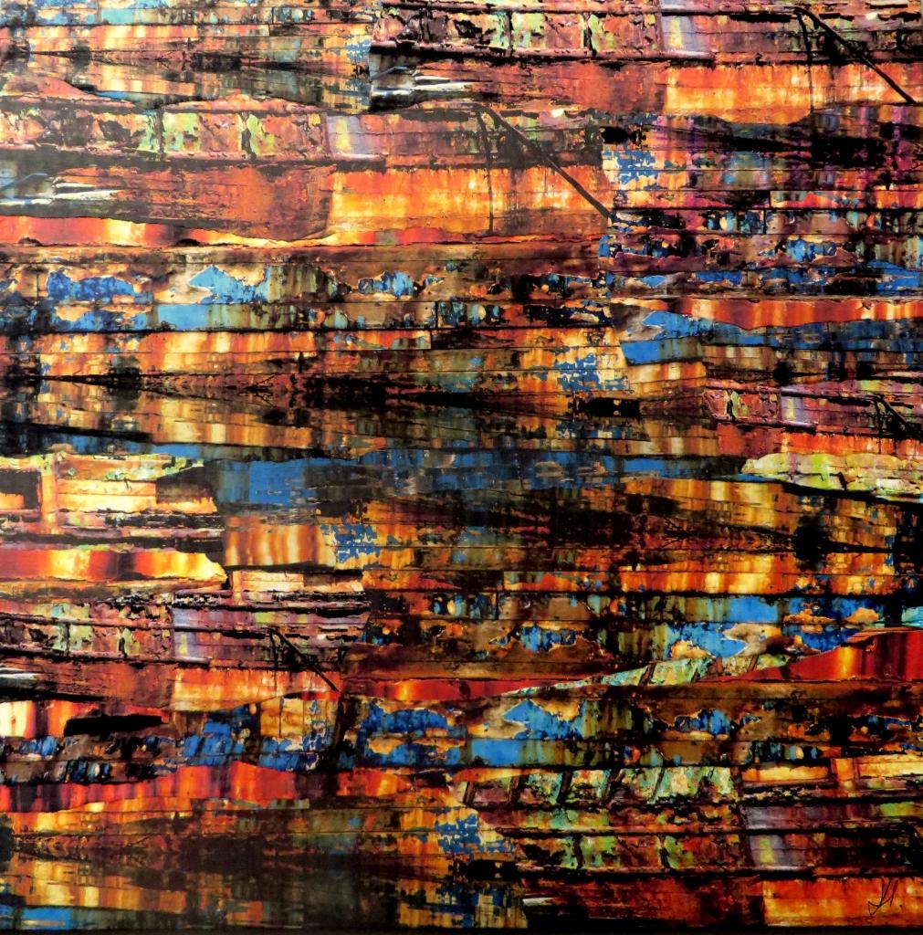Rainbow Warrior 40 x 40 cm