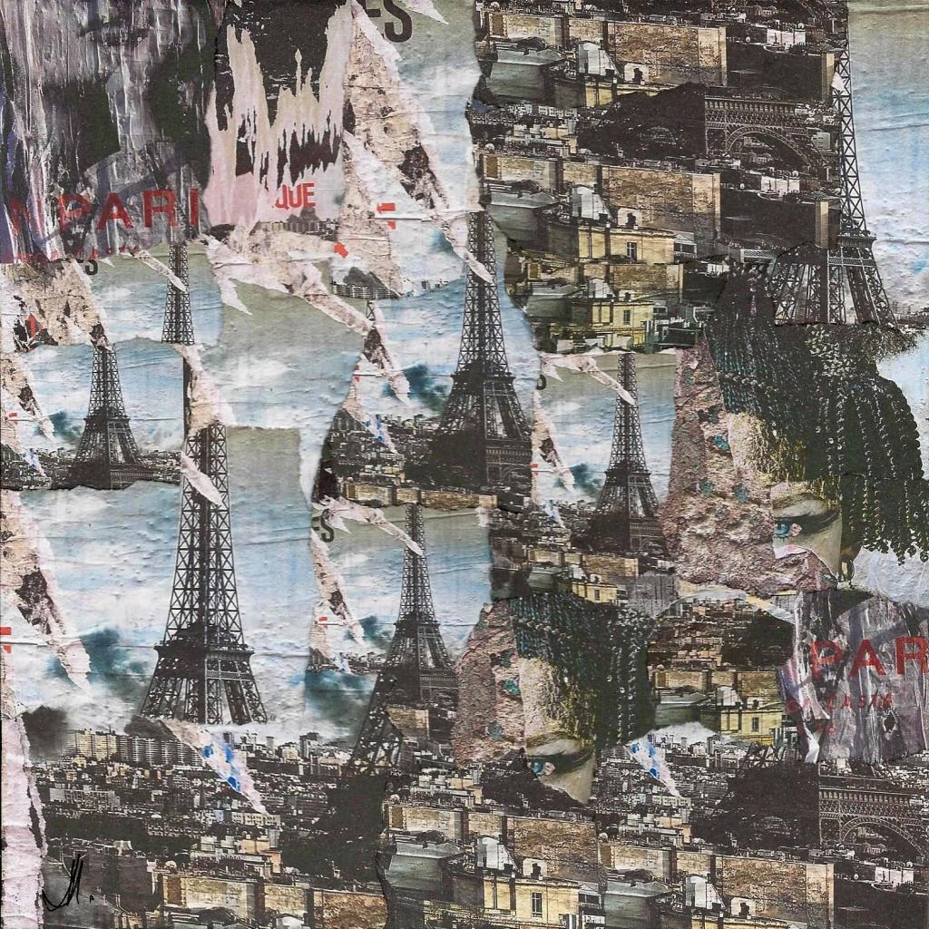 """Eiffel 20 cm x 20 cm """"indisponible"""""""