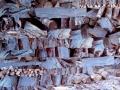 stères bleutées 40 x 40 cm